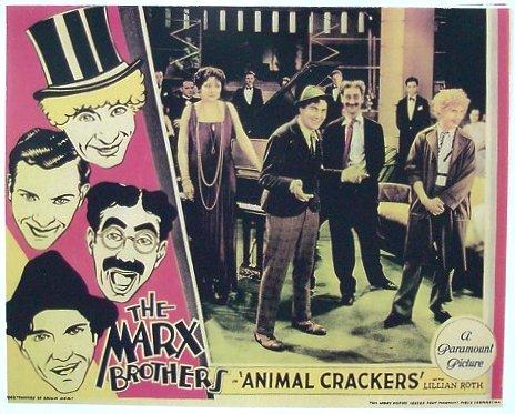 Marx Brothers Animal Crackers