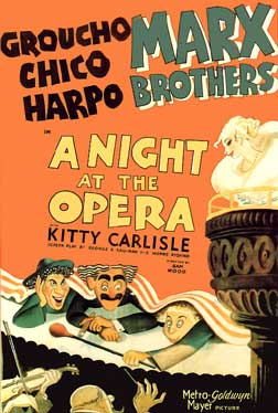 A Night at the Opera 1935 The Marx Brothers