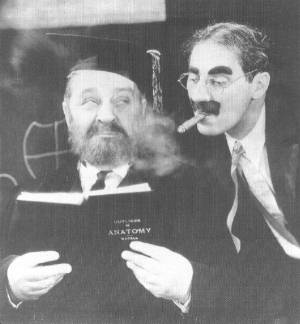 Groucho reading